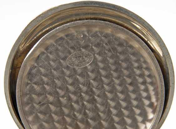 Large pocket watch in heavy Panzerkett - photo 4
