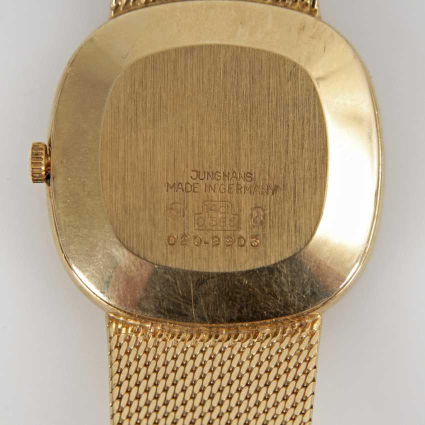 Goldene Herrenarmbanduhr Junghans Auktionskatalog 94