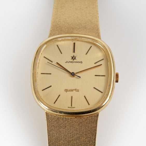 Golden men's watch, JUNGHANS. - photo 3