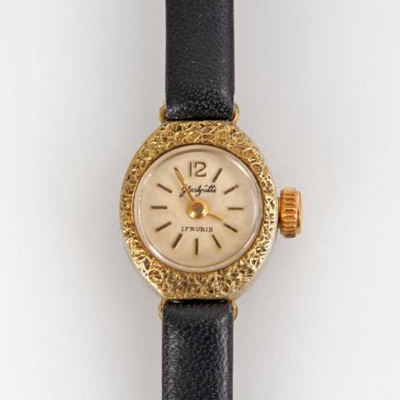 Petite ladies wristwatch, GLASHÜTTE. - photo 1