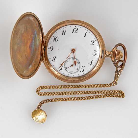 Jump deckeluhr with thinner steel watch chain, - photo 1