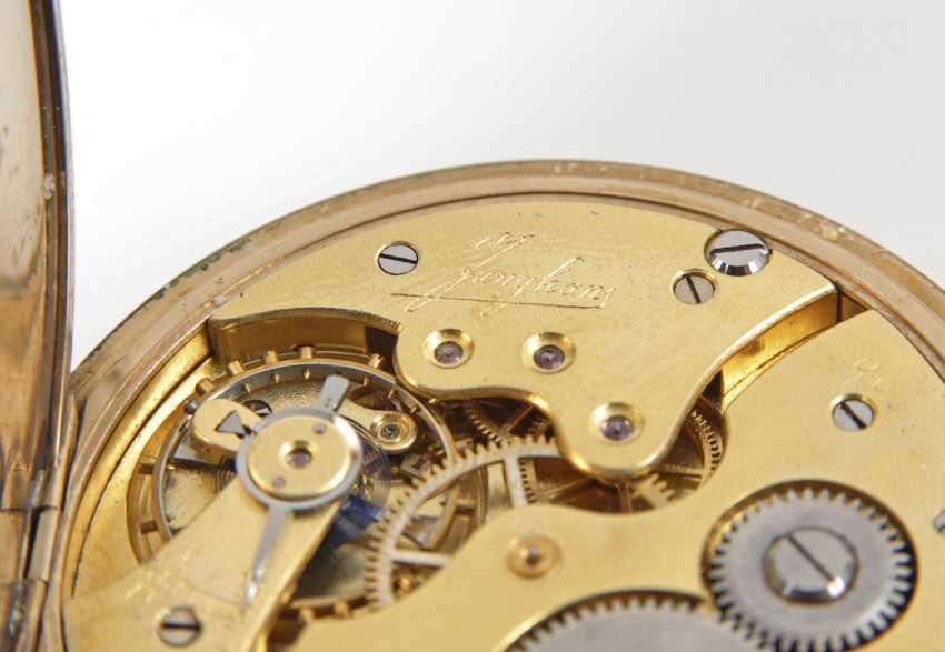Jump deckeluhr with thinner steel watch chain, - photo 2