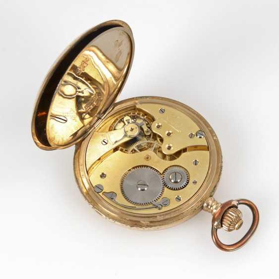 Jump deckeluhr with thinner steel watch chain, - photo 3