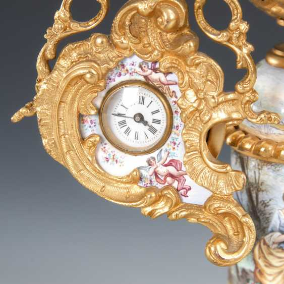 Vienna enamel watch, with a miniature figure. - photo 2