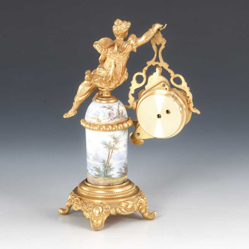Vienna enamel watch, with a miniature figure. - photo 5