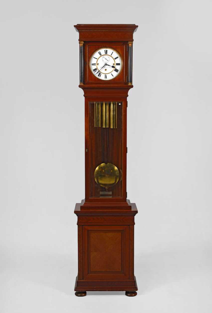 Grandfather clock in the Biedermeier style, ANTON HAW - photo 1
