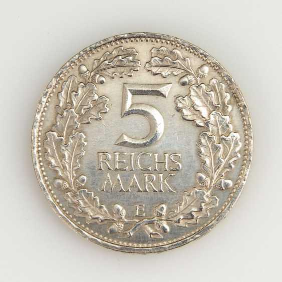 5 Reichsmark, Weimar Republic, 1925. - photo 1