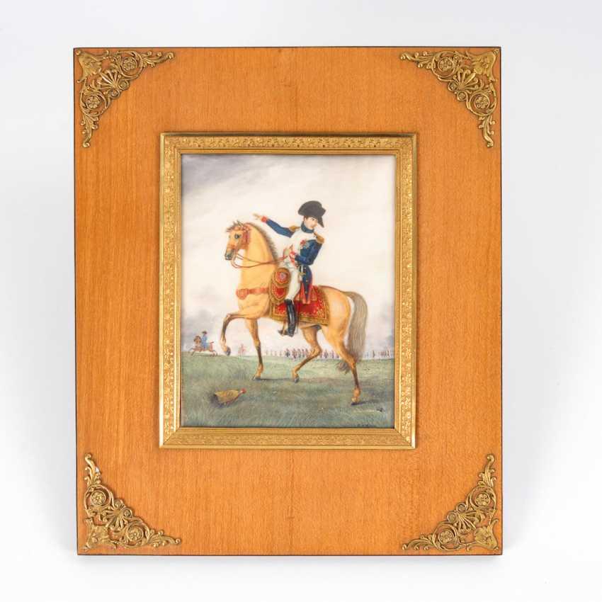 BOUIS, Jacques Victor: Large miniature: - photo 1