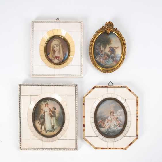 4 Miniaturen. - photo 1