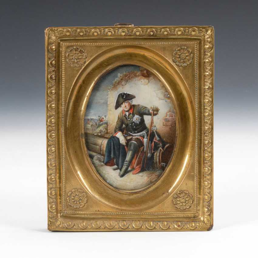 Miniature: Frederick the Great of Prussian - photo 1