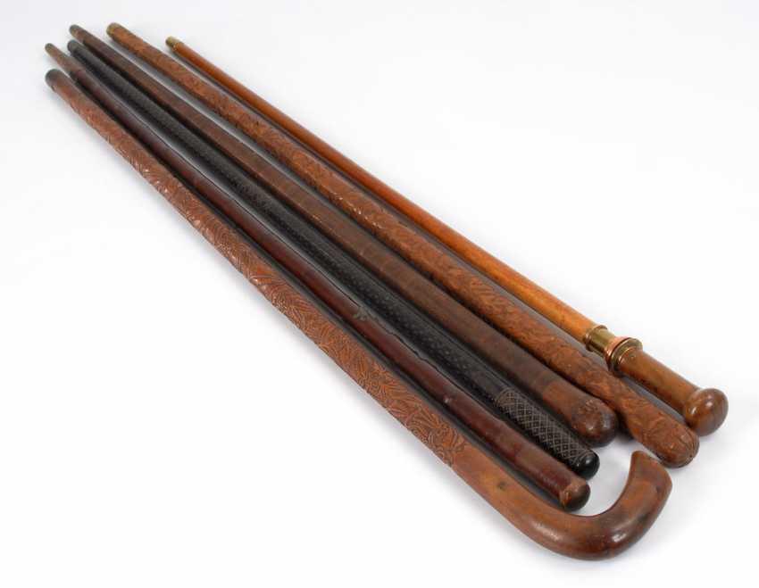 6 walking sticks, mostly walking sticks. - photo 2