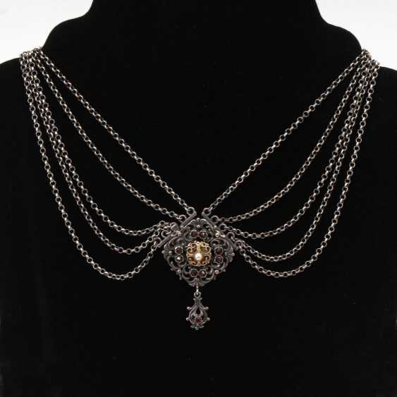 Trachten necklace with grenades. - photo 1