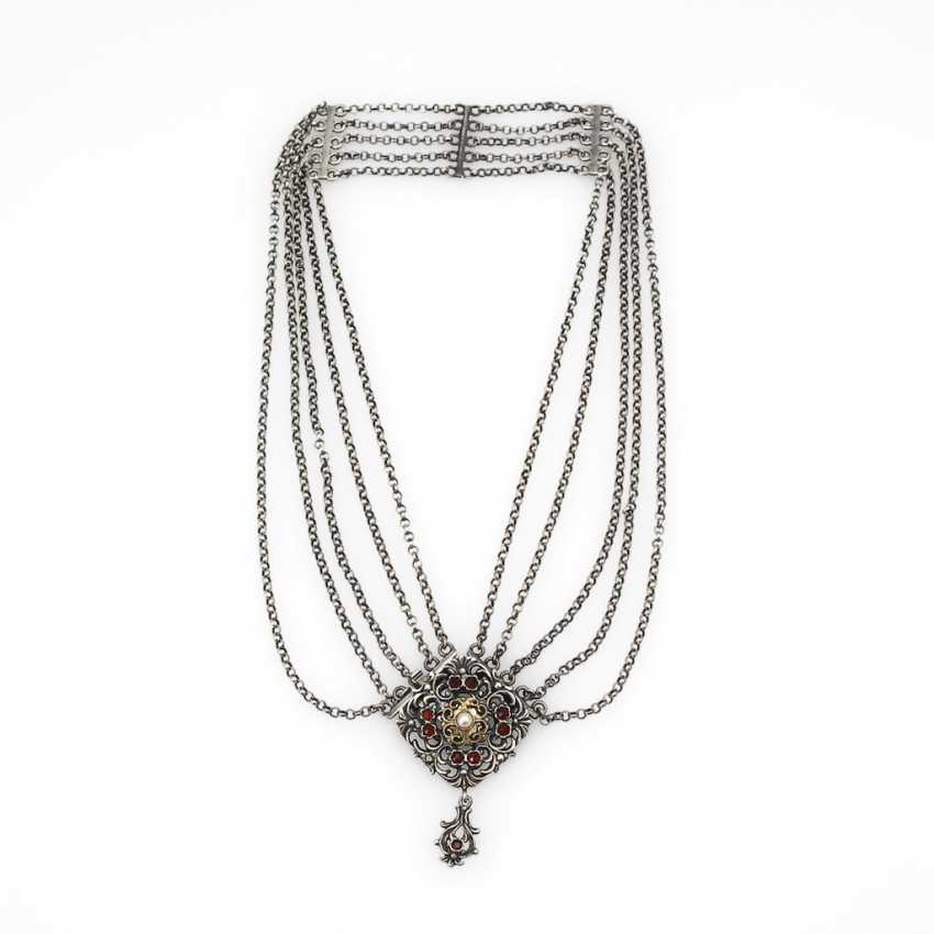 Trachten necklace with grenades. - photo 2