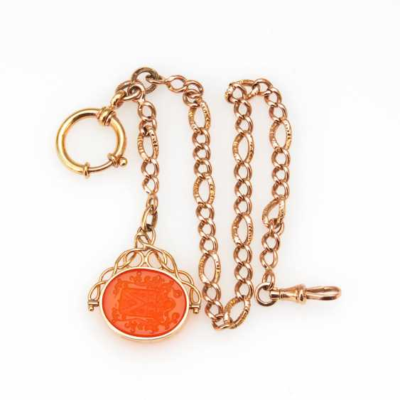 Watch-chain, with the signet. - photo 1
