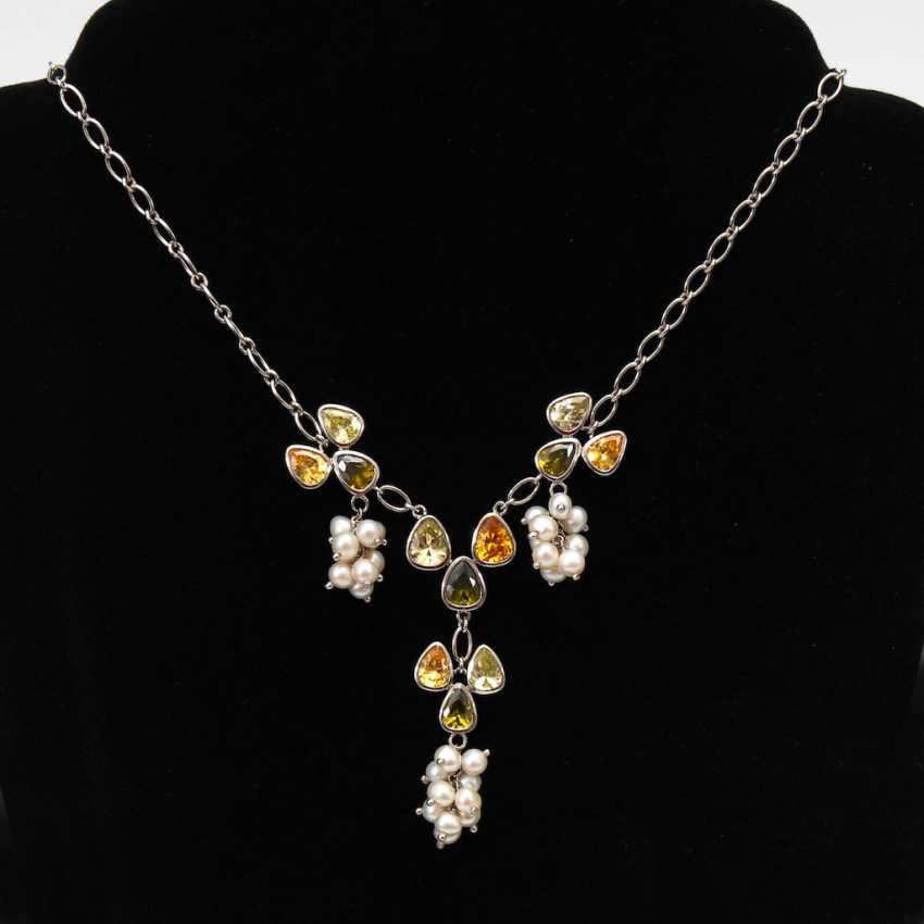 Modern Fashion Jewelry Necklace. - photo 1