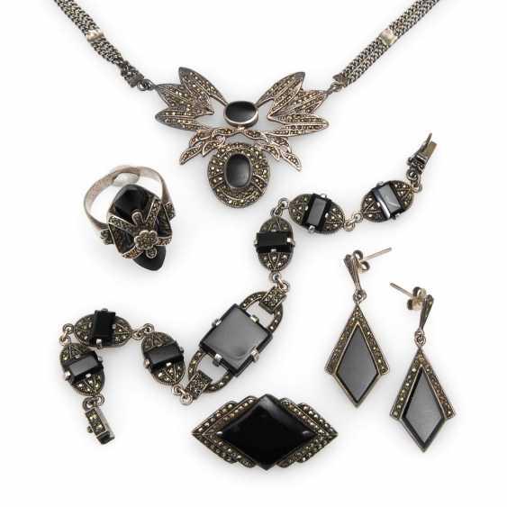 5 Parts Of Marcasite Jewelry. - photo 1