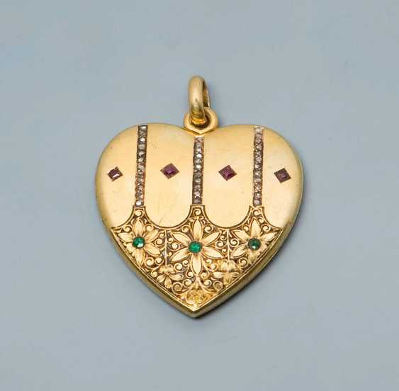 Heart Locket Pendant. - photo 1
