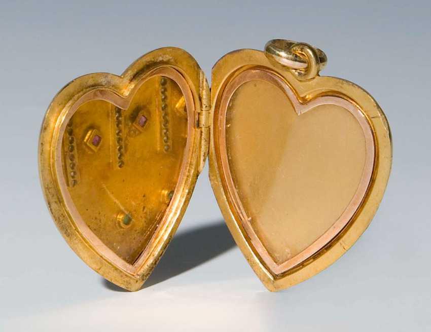 Heart Locket Pendant. - photo 2
