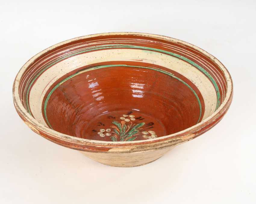 Very large Hessian peasant bowl. - photo 1