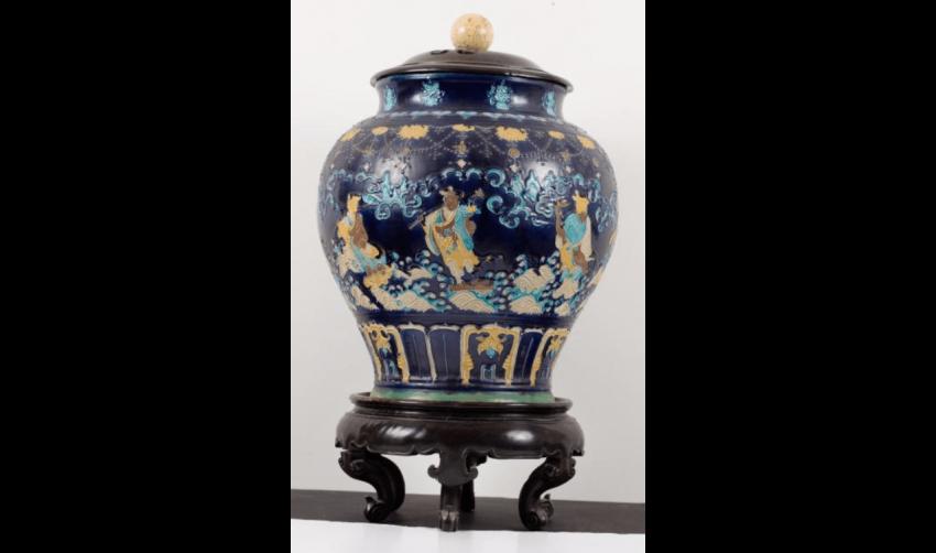 Vase Fahua de forme balustre - photo 2