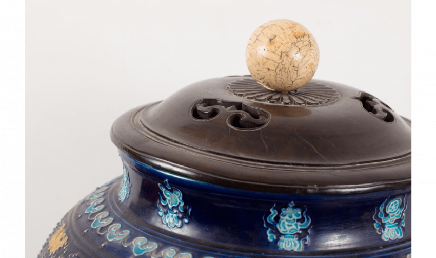 Vase Fahua de forme balustre - photo 3
