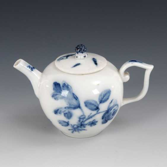 Teapots with blue painting, MEISSEN. - photo 1