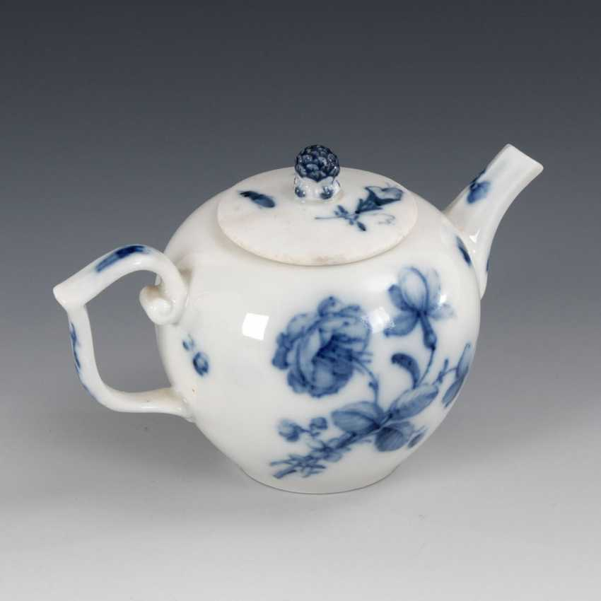 Teapots with blue painting, MEISSEN. - photo 2