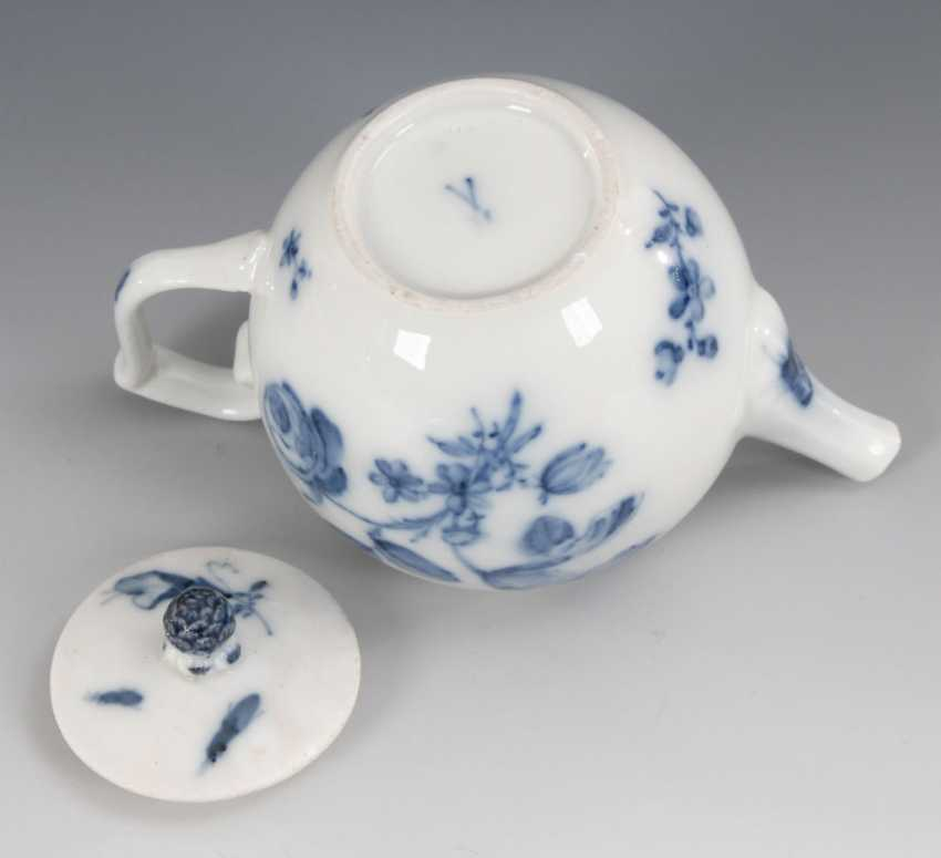 Teapots with blue painting, MEISSEN. - photo 3