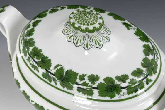 Tureen with under tray/plate, MEISSEN - photo 2