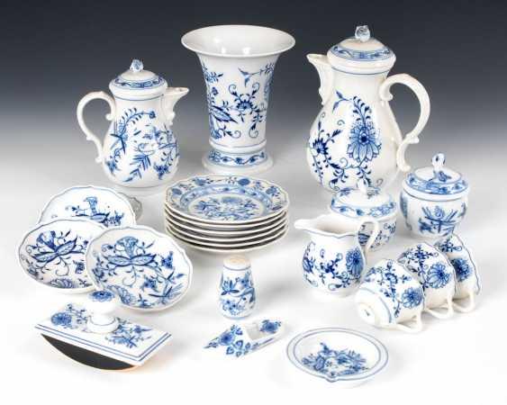 23 parts of onion pattern-porcelain, MEISS - photo 1