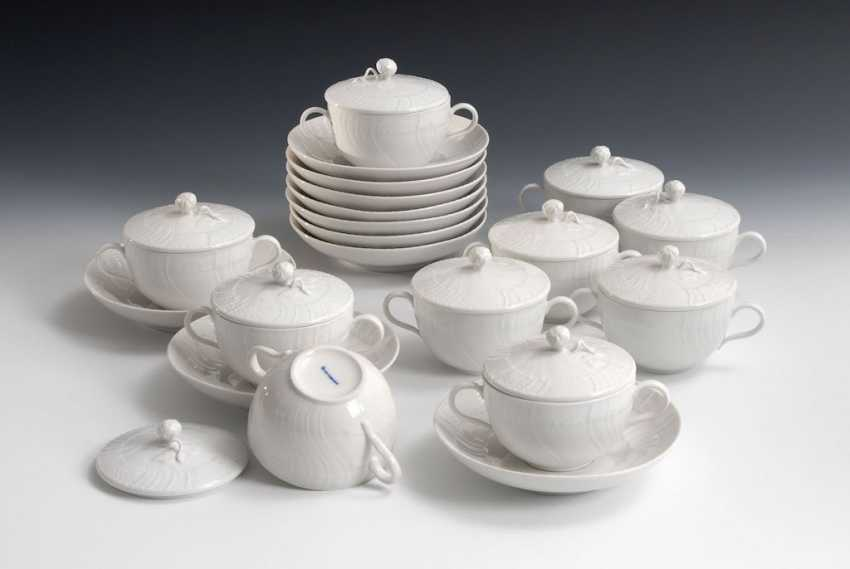 10 soup bowls, KPM BERLIN. - photo 1