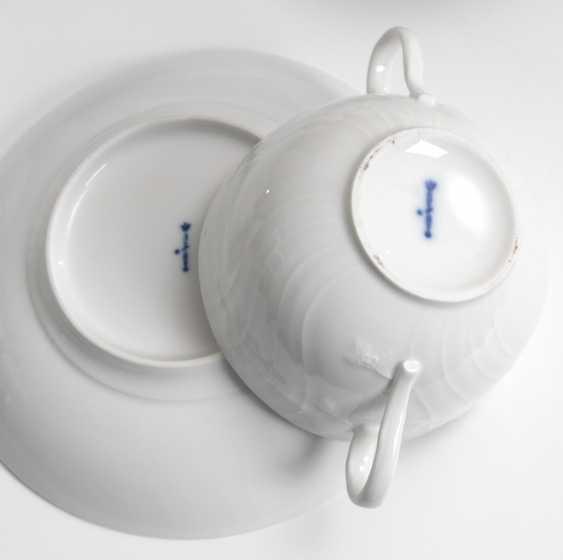 10 soup bowls, KPM BERLIN. - photo 2