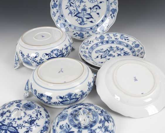 2 onion pattern tureens and 4 + 1 -Tel - photo 2