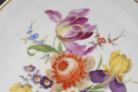 Wall plate with flower painting, MEISSEN. - photo 2