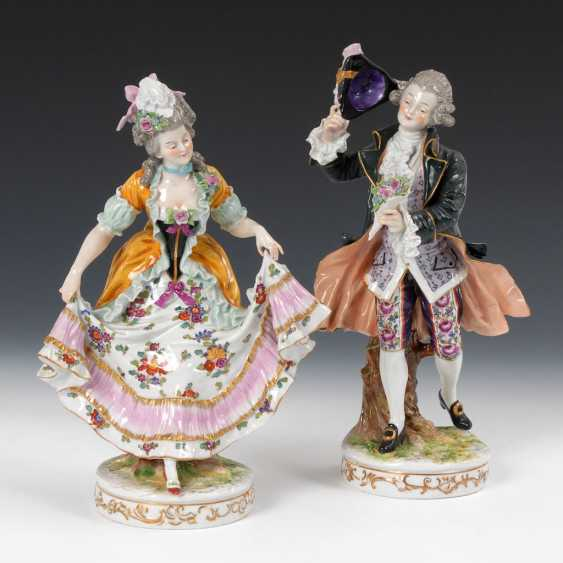 Cavalier and lady, OLDEST VOLKSTEDT - photo 1