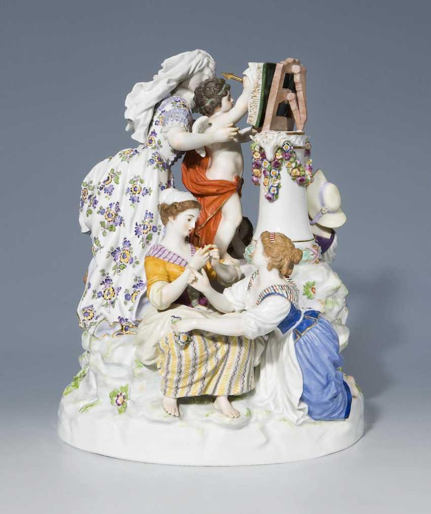 "Large Figure Group: ""The Love School"" - photo 2"