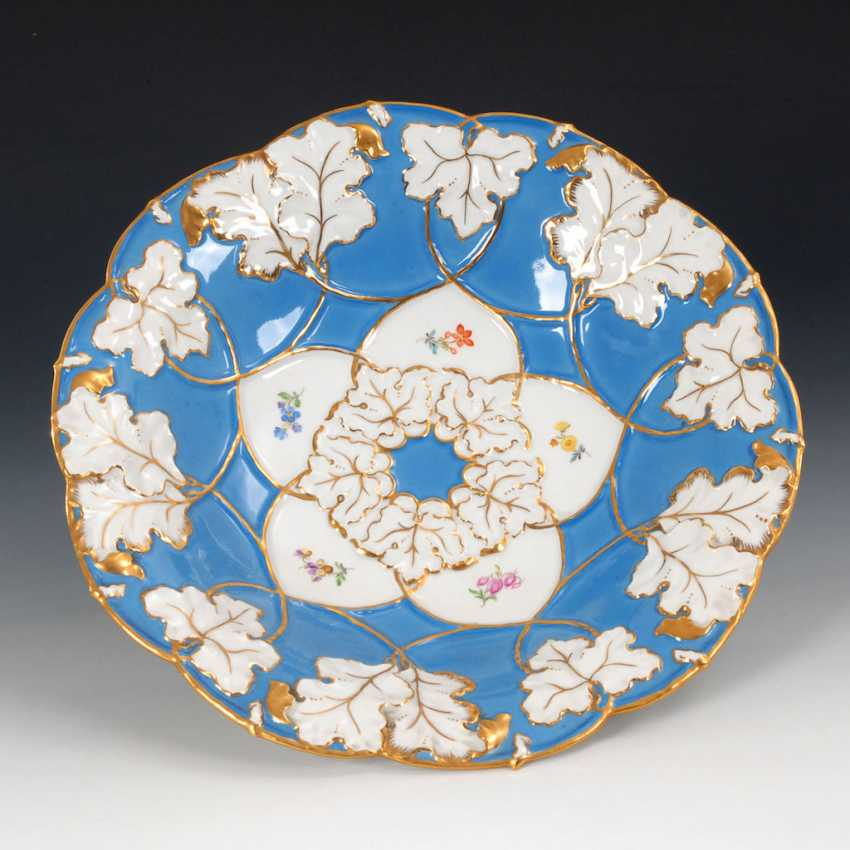 Ceremonial dish, MEISSEN. - photo 1