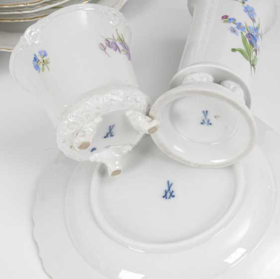 6 place settings and a Vase, MEISSEN. - photo 2