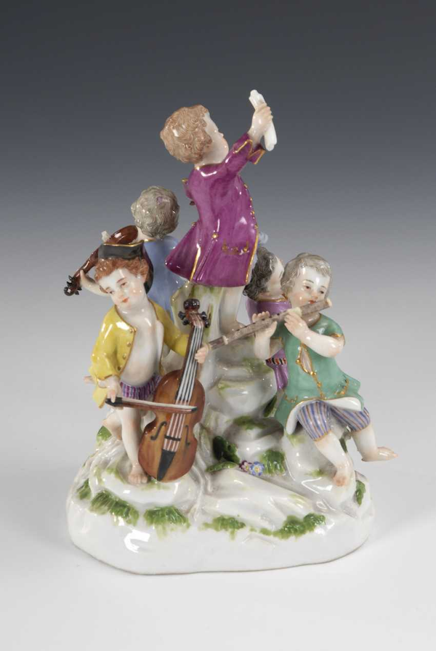 Musical cupids, MEISSEN. - photo 3