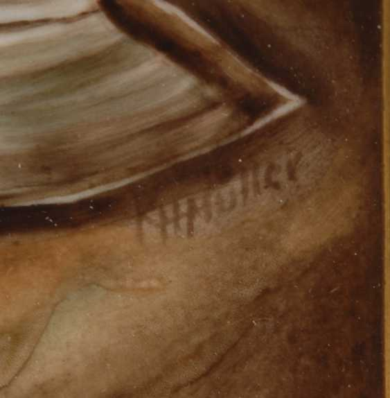 Porcelain Painting: The Hermit. - photo 3