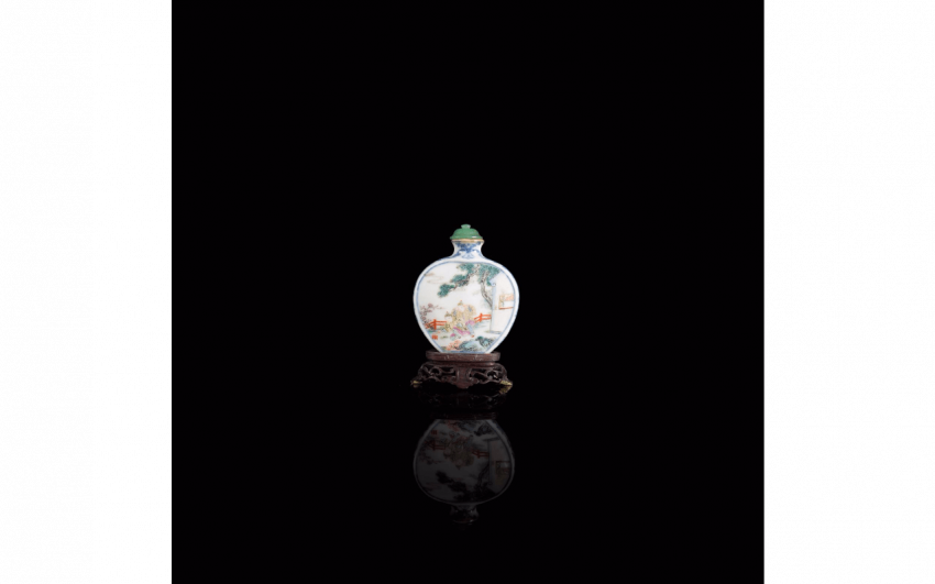 Bottle snuff China - Eighteenth century - photo 1