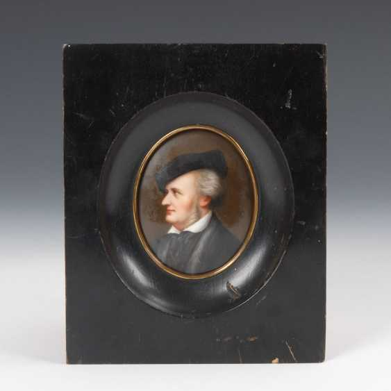 Miniature Portrait Of Wagner. - photo 1