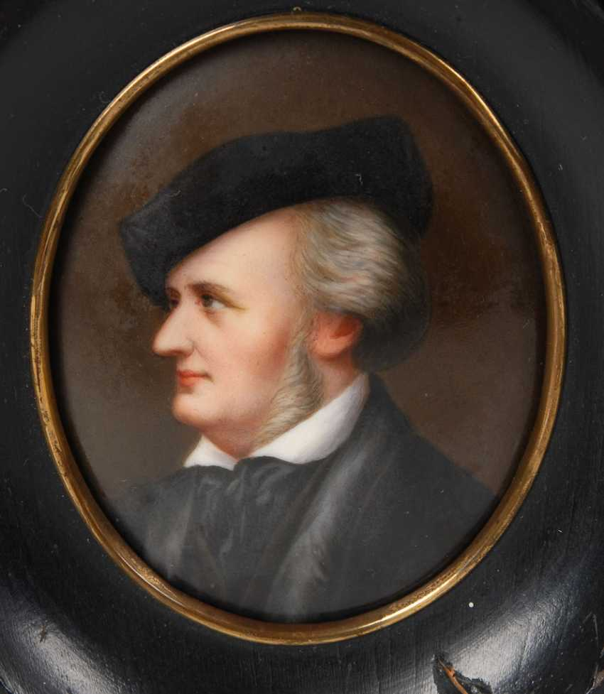 Miniature Portrait Of Wagner. - photo 2