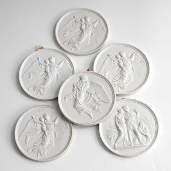 6 sponge reliefs, BING & GRONDAHL. - photo 1
