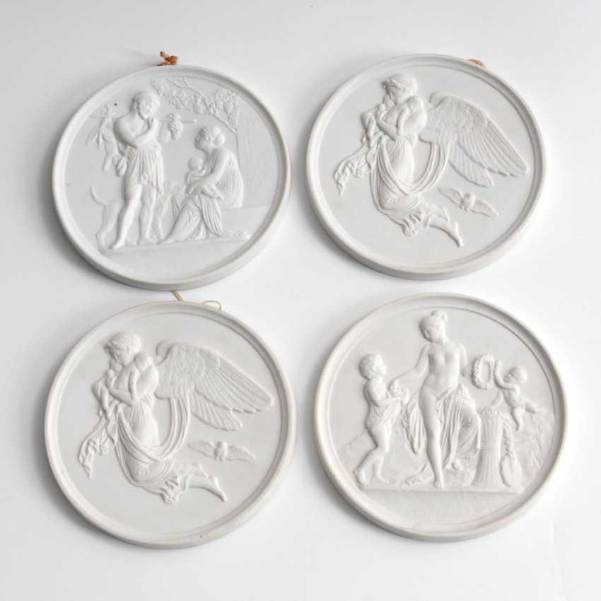4 sponge reliefs, BING & GRONDAHL. - photo 1