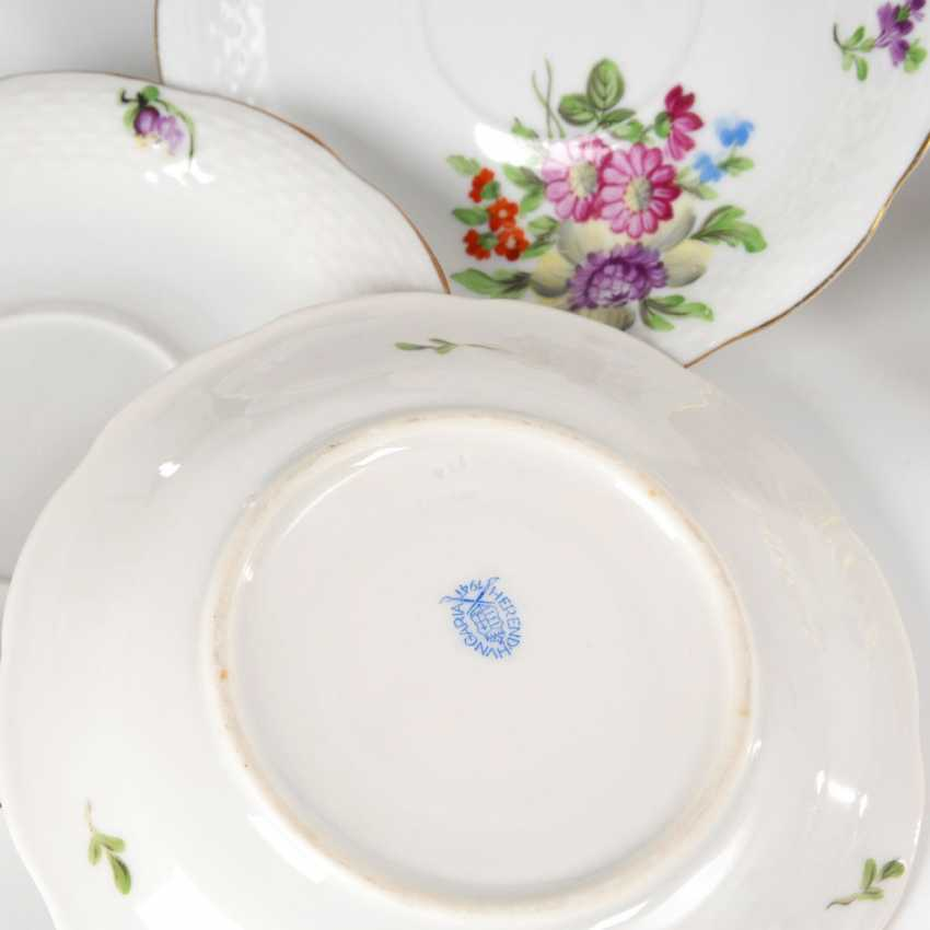 6 + 4 plates and 1 bowl, HEREND. - photo 2