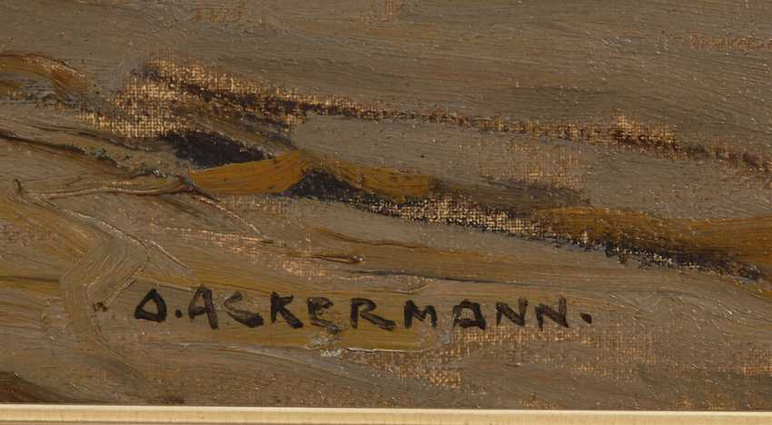 ACKERMANN, Otto: fishermen on the beach. - photo 3