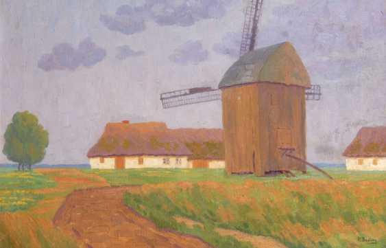 BAMBERG, Katharina: wind mill and housing - photo 1