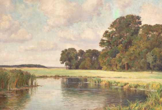 BECHSTEIN, Rudolf: the river landscape. - photo 1