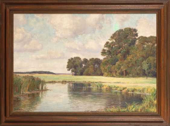 BECHSTEIN, Rudolf: the river landscape. - photo 2
